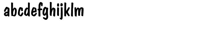EF Dom Casual Regular Font LOWERCASE