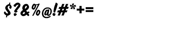 EF Dom Diagonal Bold Font OTHER CHARS