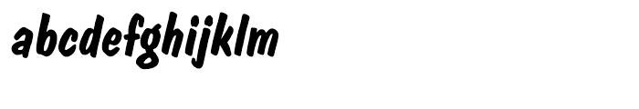 EF Dom Diagonal Bold Font LOWERCASE