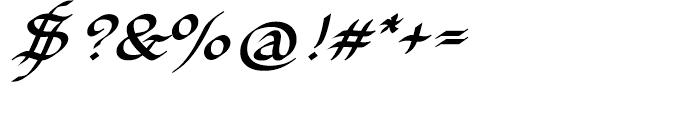 EF Elf Bold Font OTHER CHARS