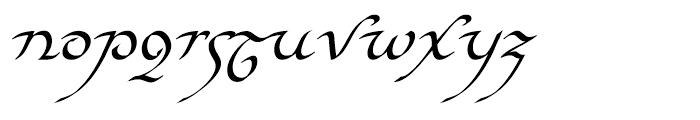 EF Elf Regular Font LOWERCASE