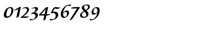 EF Elysa Bold Italic Font OTHER CHARS