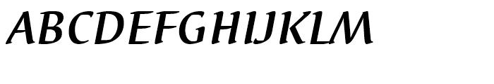 EF Elysa Bold Italic Font UPPERCASE