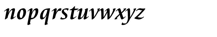EF Elysa Bold Italic Font LOWERCASE