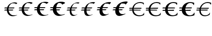 EF EuroSerif Six Font LOWERCASE