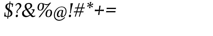 EF Forlane Roman Italic Font OTHER CHARS