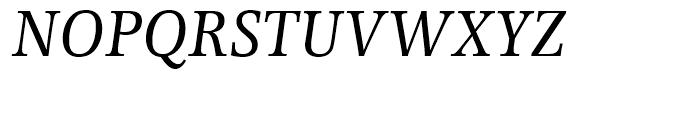EF Forlane Roman Italic Font UPPERCASE