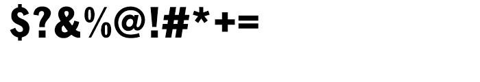 EF Franklin Gothic CE Regular Condensed Font OTHER CHARS