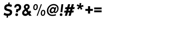 EF Futura Demi Bold Oblique Font OTHER CHARS