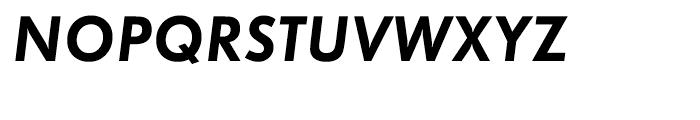 EF Futura Demi Bold Oblique Font UPPERCASE