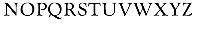 EF Goudy Catalogue Regular Font UPPERCASE
