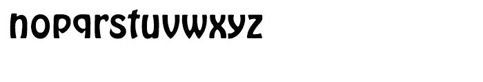EF Hobo Regular Font LOWERCASE