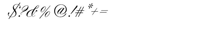 EF Hogarth Script Turkish Regular Font OTHER CHARS