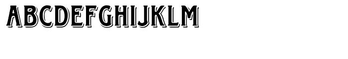 EF Horndon Regular Font UPPERCASE