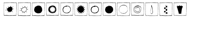 EF Imagination Black Box Font UPPERCASE