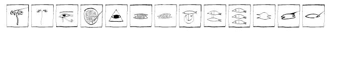 EF Imagination Fisheyes Box Font UPPERCASE