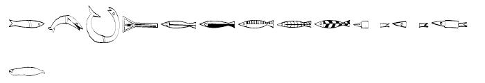 EF Imagination Fisheyes Font LOWERCASE