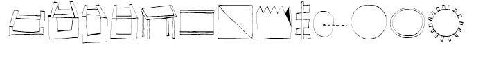 EF Imagination Magic Font UPPERCASE