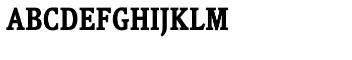 EF Jenson Old Style Bold Cond Font UPPERCASE