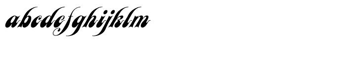 EF Julia Script Regular Font LOWERCASE