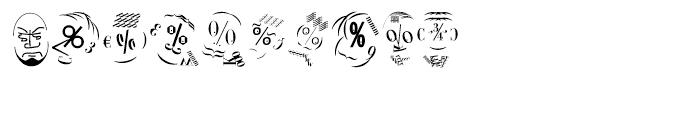 EF KL Type Faces Regular Font OTHER CHARS