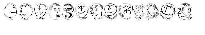 EF KL Type Faces Regular Font UPPERCASE