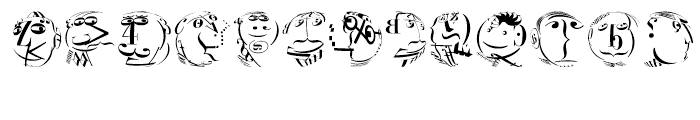 EF KL Type Faces Regular Font LOWERCASE