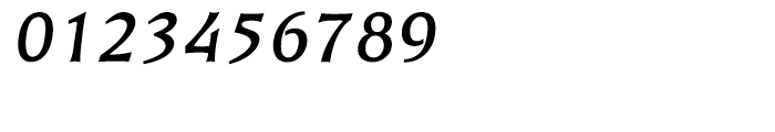 EF Kiev Bold Oblique CE Font OTHER CHARS