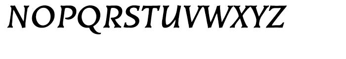 EF Kiev Bold Oblique Turkish Font UPPERCASE