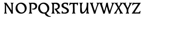 EF Kiev Bold Turkish Font UPPERCASE