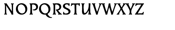 EF Kiev Bold Font UPPERCASE