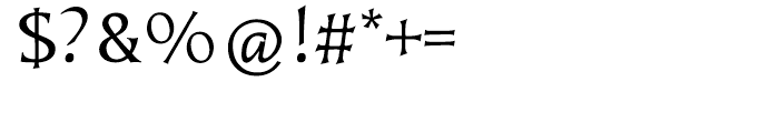 EF Kiev CE Regular Font OTHER CHARS