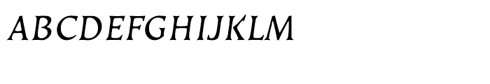EF Kiev Regular Oblique SC CE Font LOWERCASE