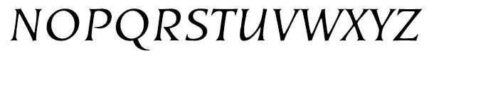 EF Kiev Regular Oblique SC Turkish Font UPPERCASE