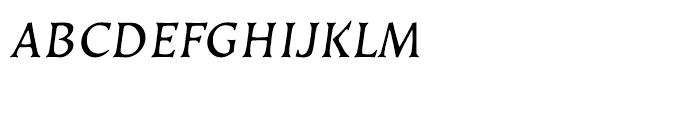 EF Kiev Regular Oblique SC Turkish Font LOWERCASE