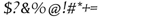 EF Kiev Regular Oblique SC Font OTHER CHARS