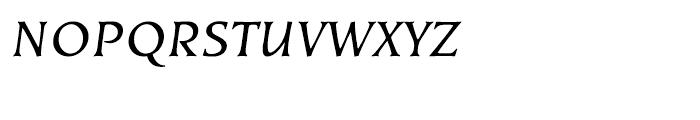EF Kiev Regular Oblique SC Font LOWERCASE