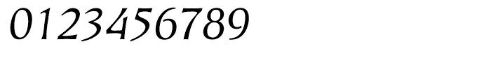 EF Kiev Regular Oblique Turkish Font OTHER CHARS