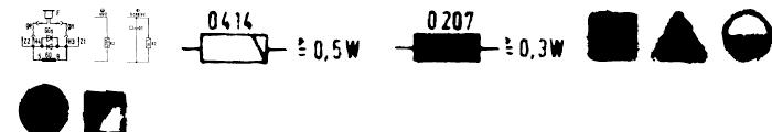 EF LOOKAlike Symbols Font OTHER CHARS