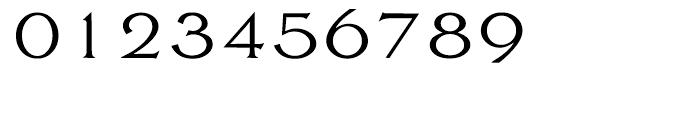 EF Largo Light Font OTHER CHARS