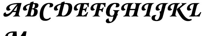 EF Latienne Bold Italic Swash Caps Font UPPERCASE