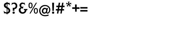 EF Liberty Regular Font OTHER CHARS