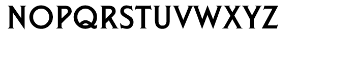 EF Liberty Regular Font UPPERCASE