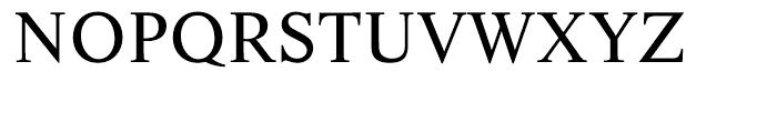 EF Life Regular Font UPPERCASE