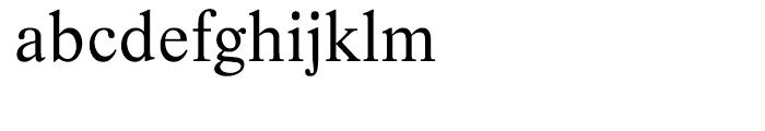 EF Life Regular Font LOWERCASE