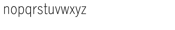 EF Lightline Gothic Turkish Regular Font LOWERCASE