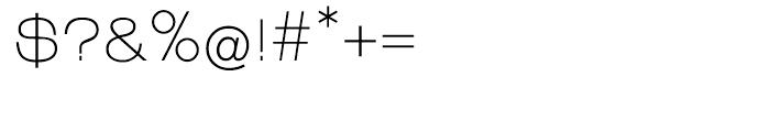 EF Linear Regular Font OTHER CHARS