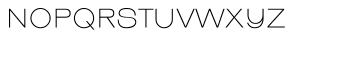 EF Linear Regular Font UPPERCASE