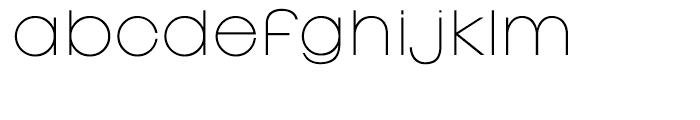 EF Linear Regular Font LOWERCASE