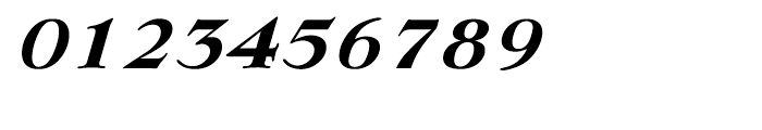 EF Lingwood CE Bold Italic Font OTHER CHARS